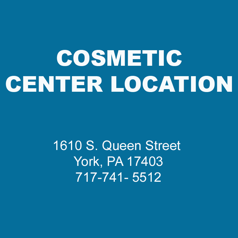 Cosmetic Center Location - 1610 S. Queen Street York, PA 17403, Phone: 717-741- 5512