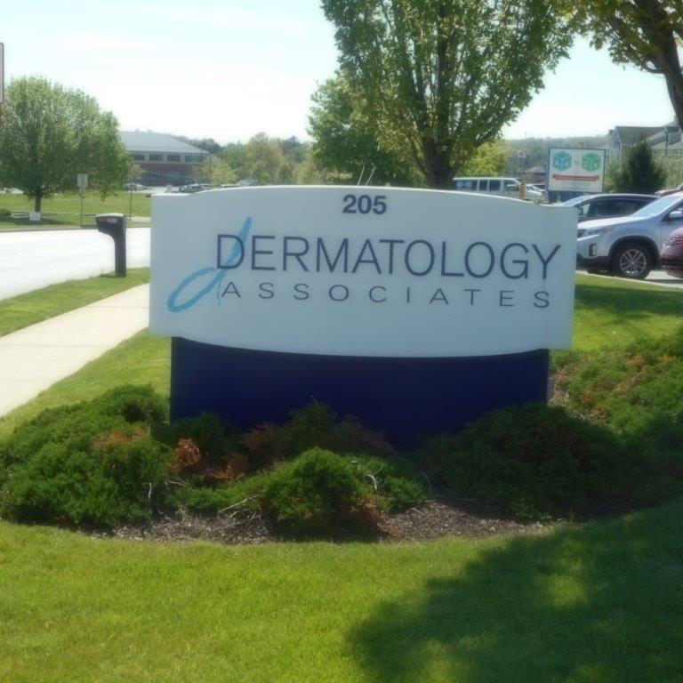 Dermatology Associates of York, PA Sign